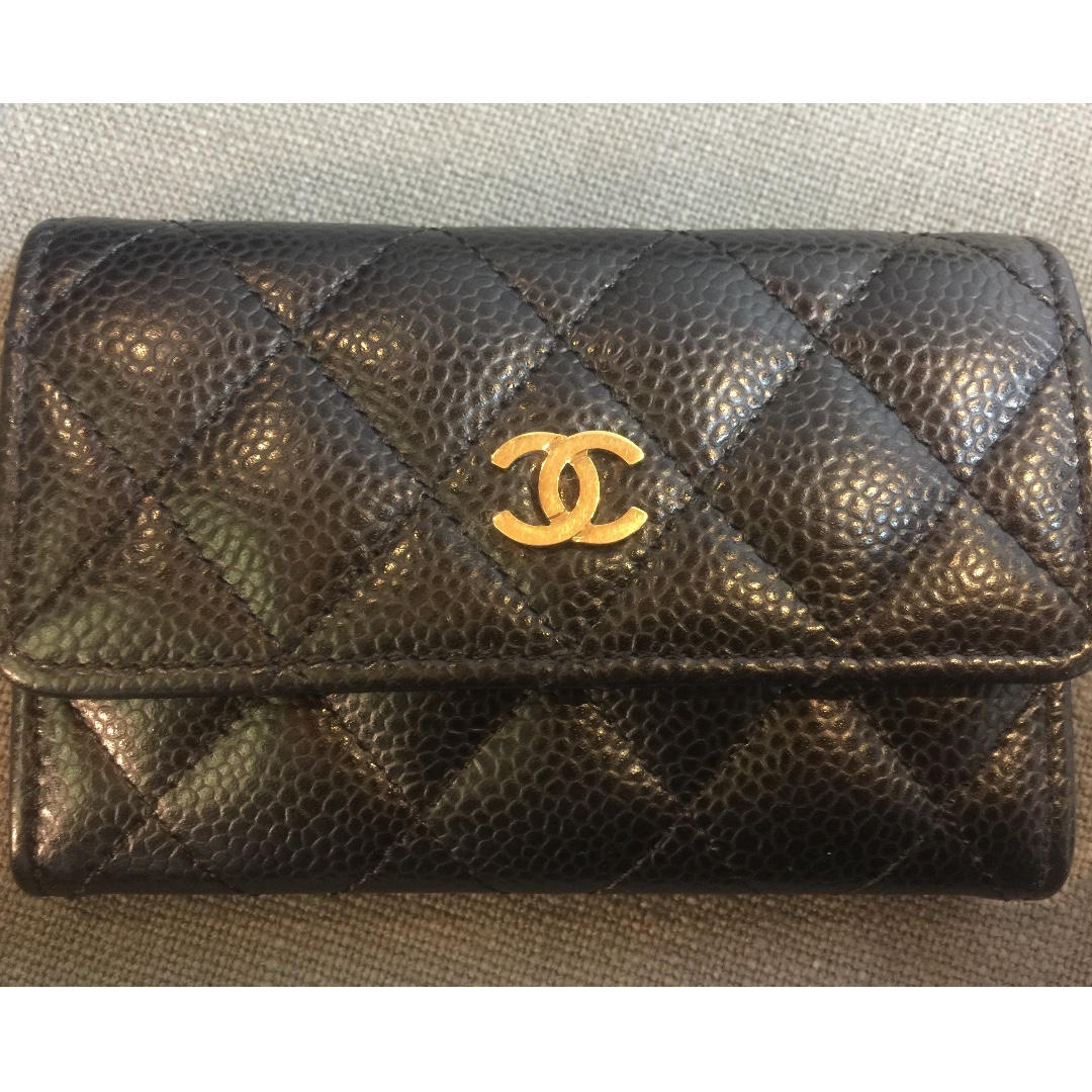 Chanel Business Card Holder Womens Fashion Accessories On Carousell