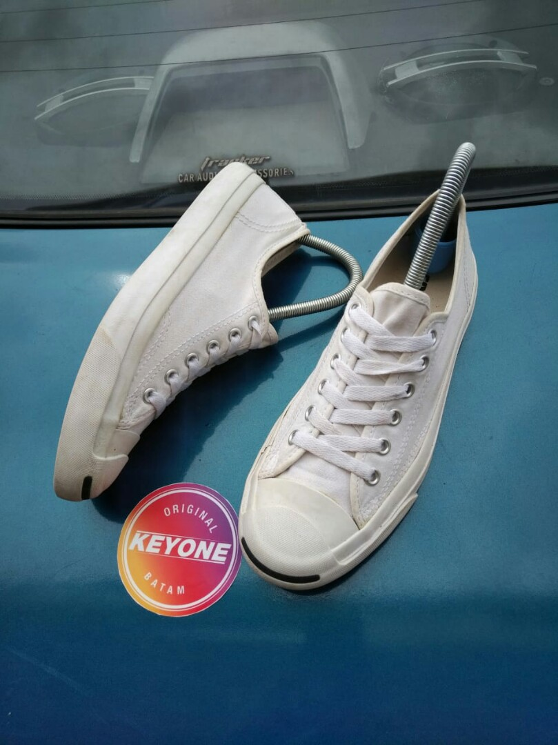 920dc5320f218b converse Jack purcell unisex ox White shoes original