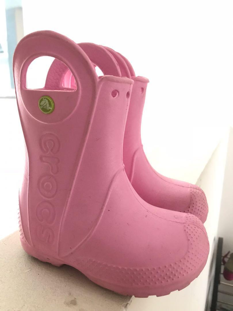 Crocs handle it rain boots, Babies