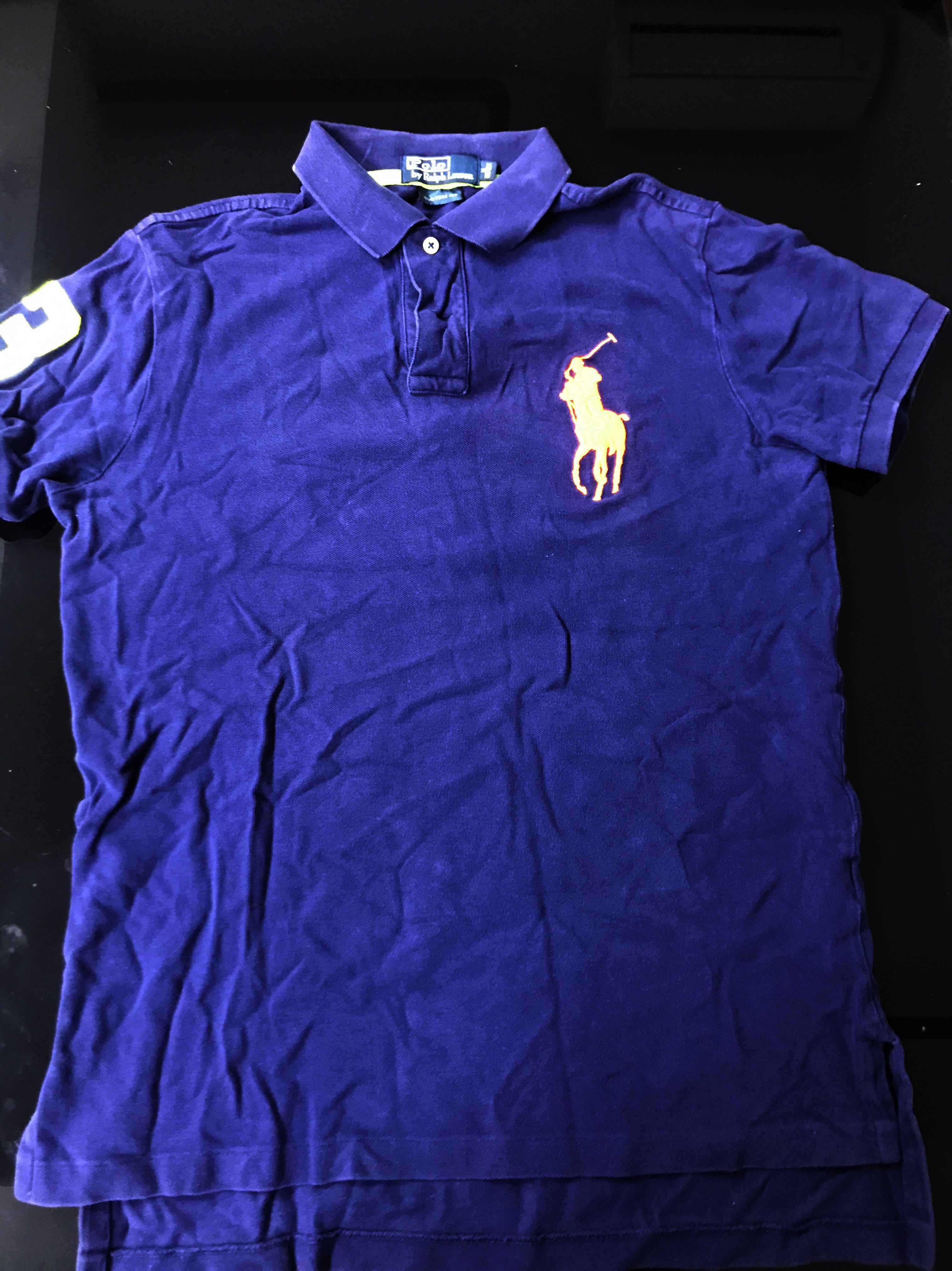a3667dea4ab18 Dark Blue Polo Ralph Lauren Polo Shirt