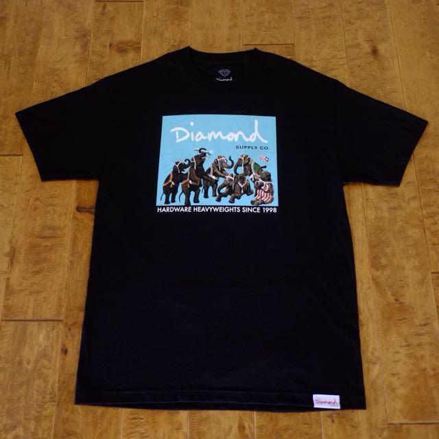 964c6bcc90cafa Diamond Supply Co Hardware Heavyweights Elephant T-shirt
