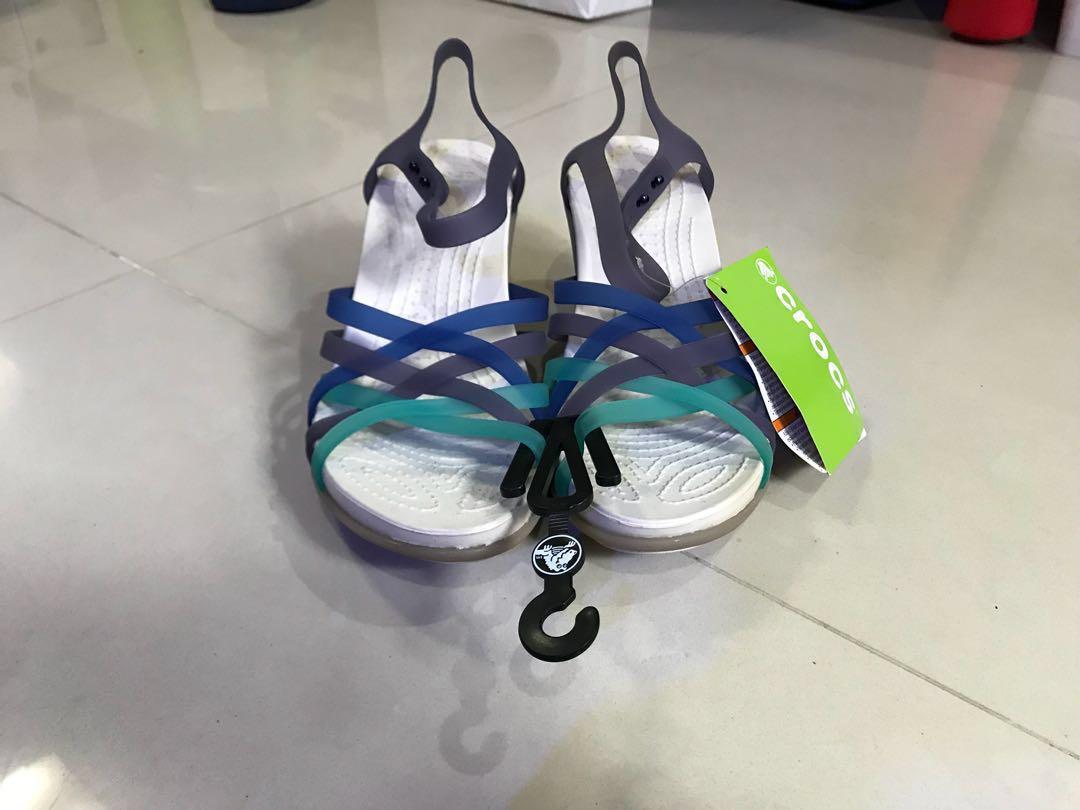 9ee98614a028 Genuine Crocs huarache sandal wedge w