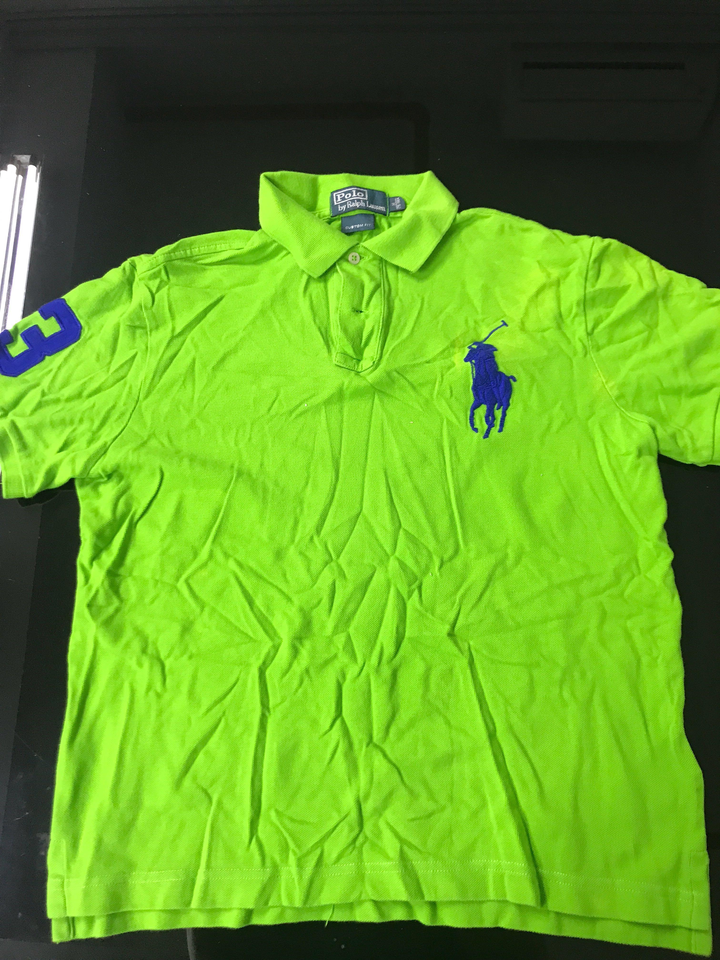 3a56aaeee Green Polo Ralph Lauren Polo Shirt