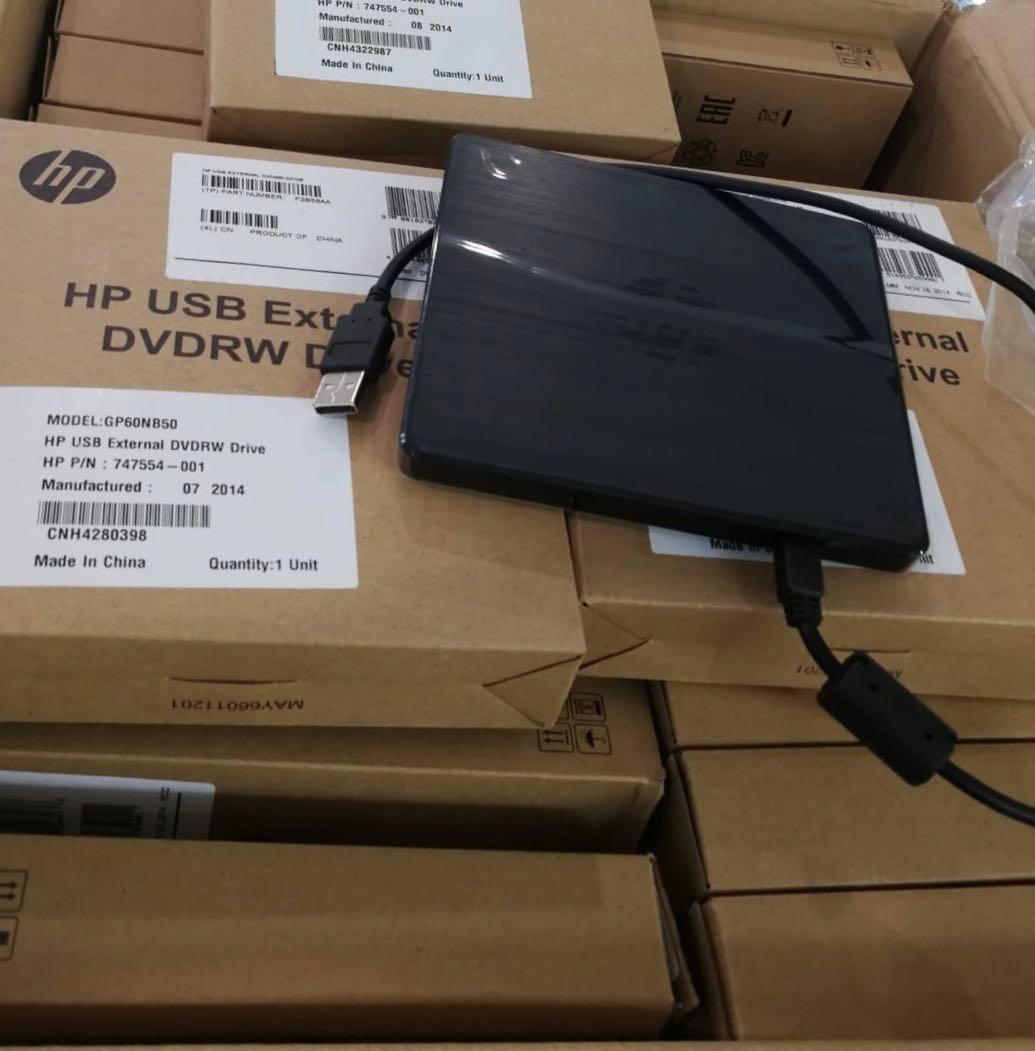 c2d3c3efd332d0 Hp USB External DVDRW Drive, Electronics, Computer Parts ...