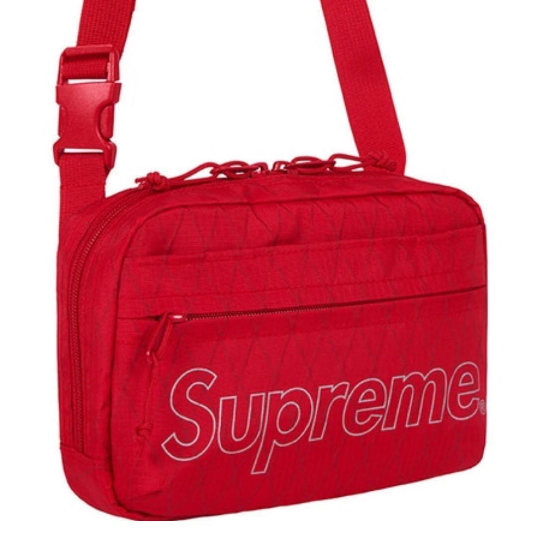 c98ea030 IN STOCK] Supreme Shoulder Bag FW18 Red, Men's Fashion, Bags ...