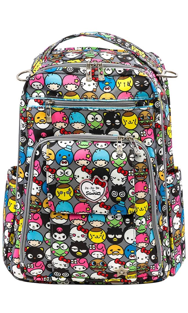 ea4377375bf1 Jujube Hello Kitty Collection Be Right Back Backpack Diaper Bag ...