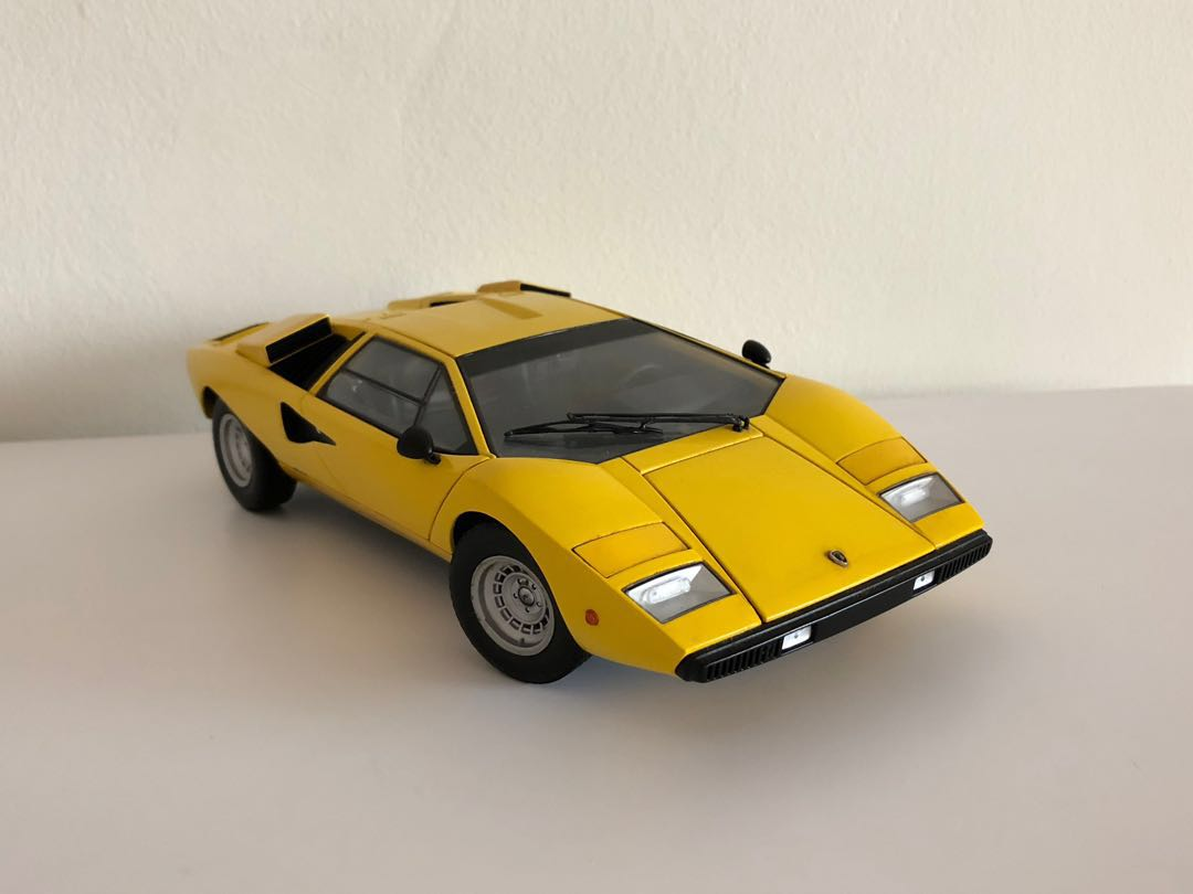 Kyosho Lamborghini Countach Lp400 Yellow 1 18 Toys Games Others