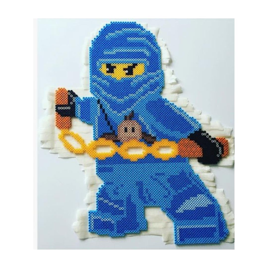 Lego Ninjago Perler Pixel Art Design Craft Others On