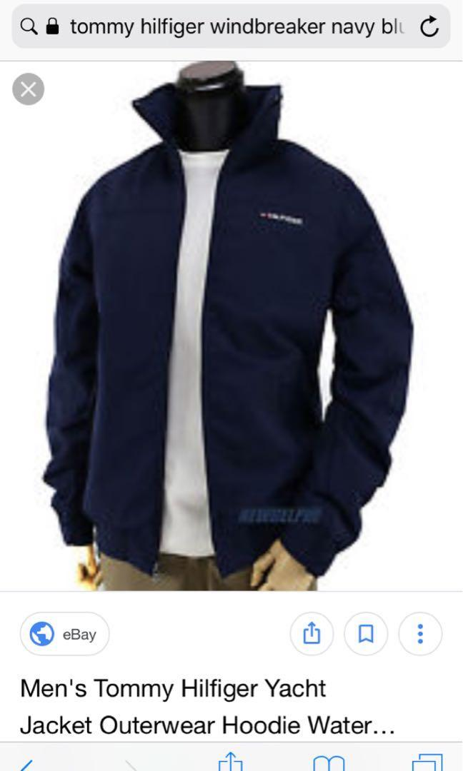 Men's (unisex) tommy  hilifiger yacht jacket (water proof)
