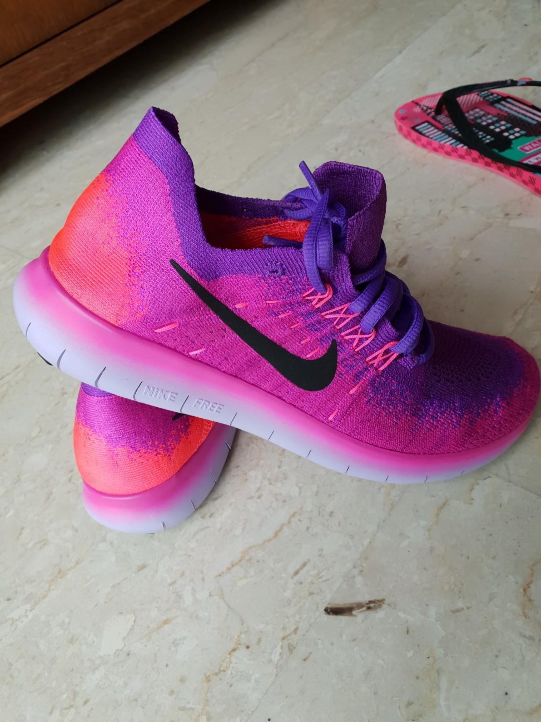 low priced a2396 b129b Nike Free RN Flyknit 2017 Women's Running Shoe (used one ...