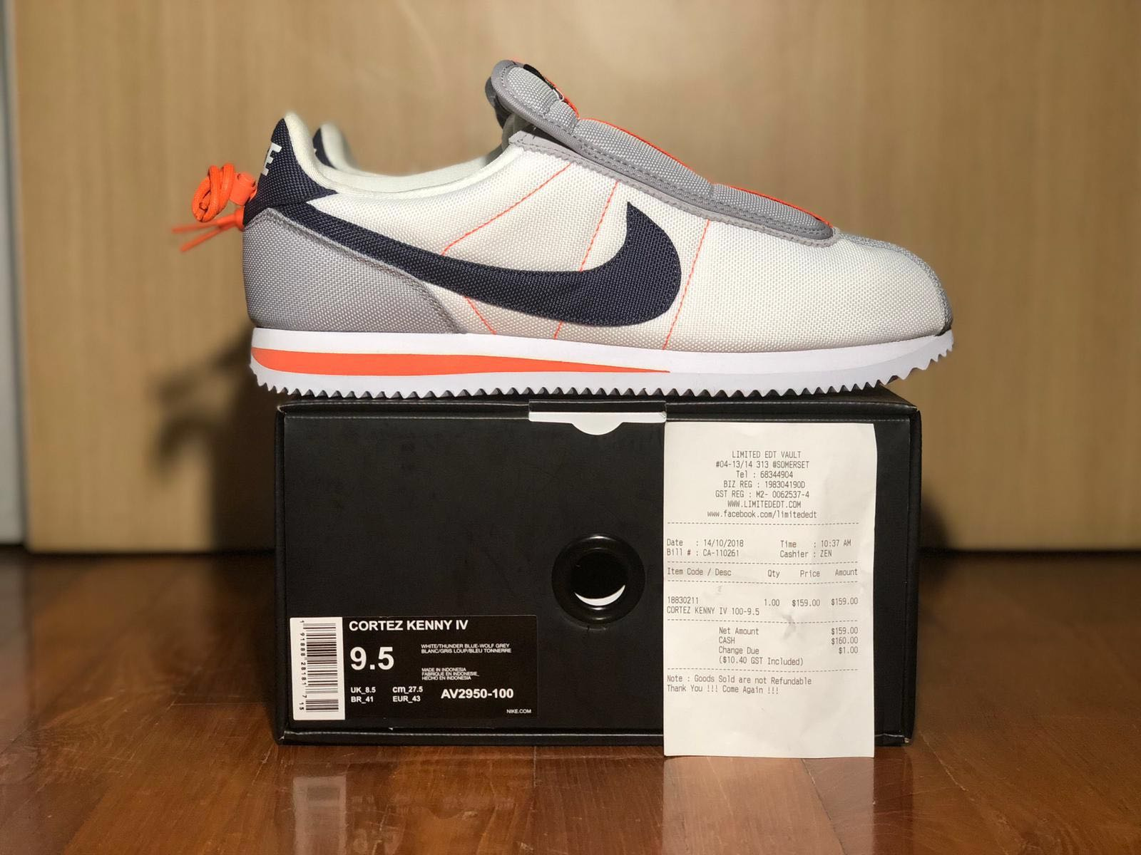 8a38e924091 Nike Kendrick Lamar Cortez Kenny IV Basic Slip