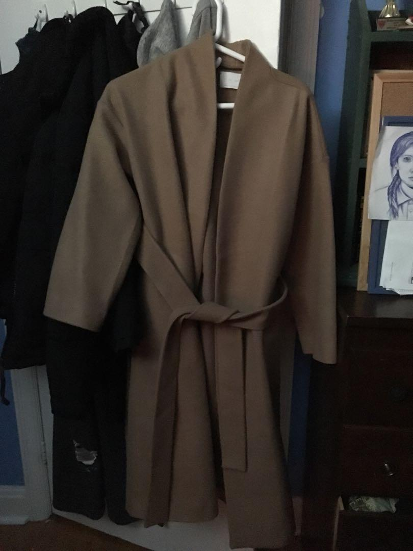 Oak and fort small wool coat