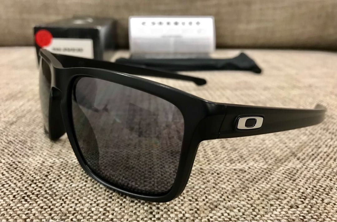 90657b3b78 Oakley™ SLIVER-Asian Fit (Matte Black Grey)