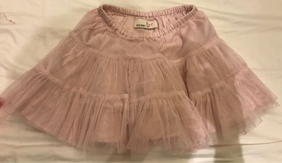 Clothing, Shoes & Accessories Gap Baby Kids Toddler Girls 3t Pink Lined Tulle Tutu Skirt Buy One Give One