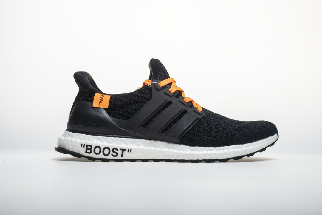 new concept bee0f d8f9a Original Off White X Adidas Ultra Boost 4.0 Black Orange