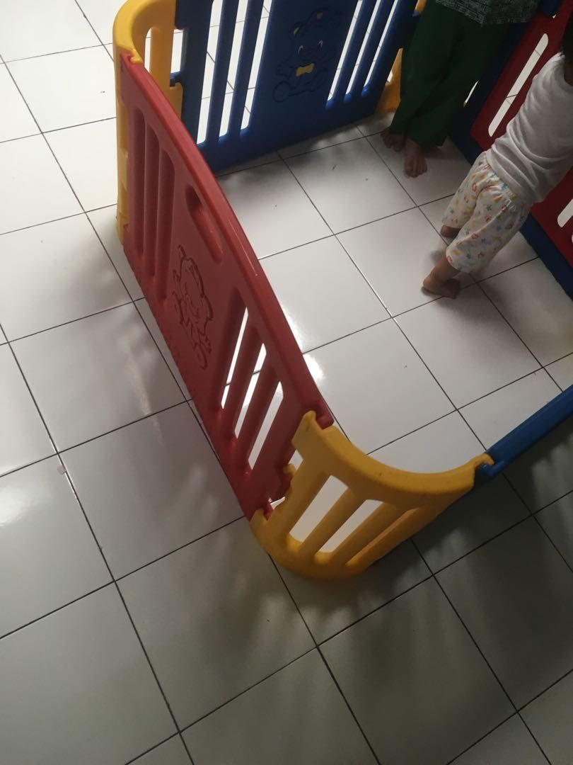 Pagar Bayi Baby Fence Preloved Babies Kids Cots Cribs