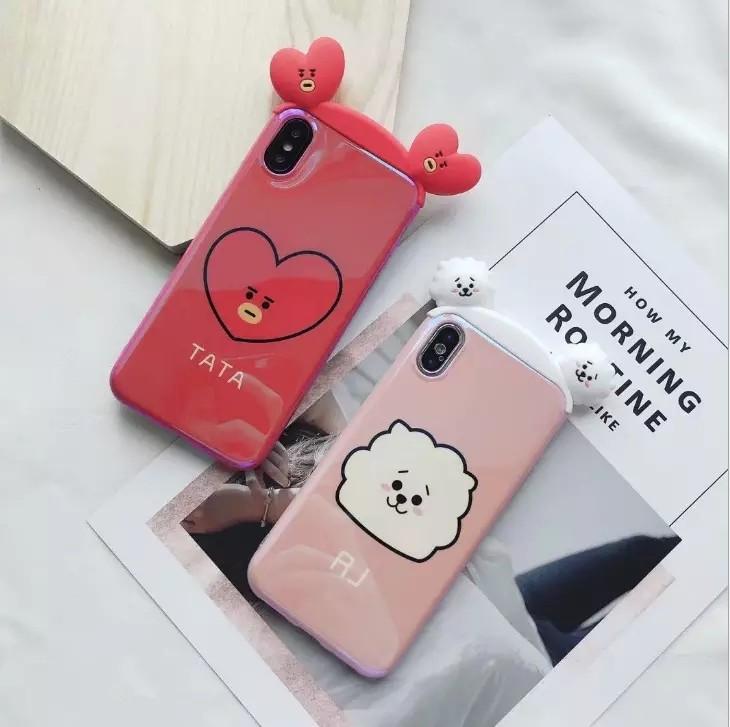 low priced 683f2 cf88f (PO) BT21 iphone case