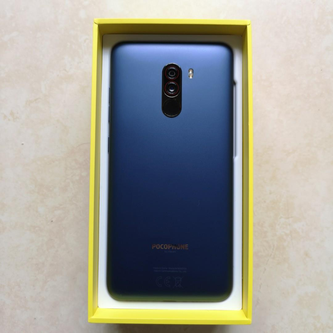 Pocophone F1 128GB Blue, Mobile Phones & Tablets, Android
