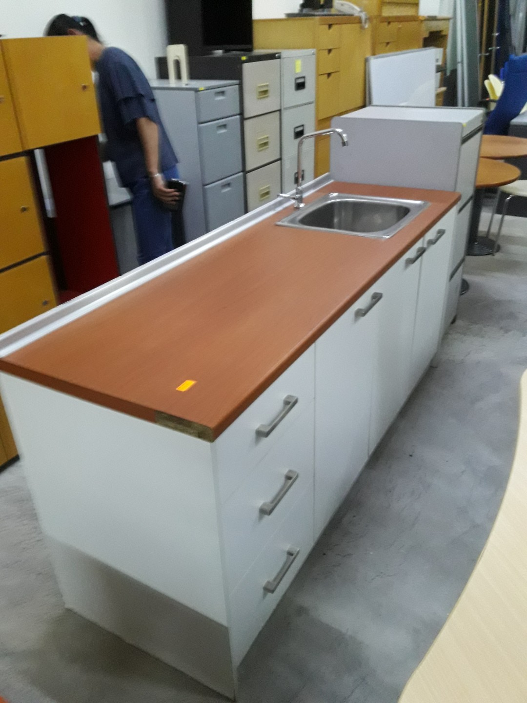 Portable Kitchen Cabinet C W Sink Home Furniture Furniture On Carousell