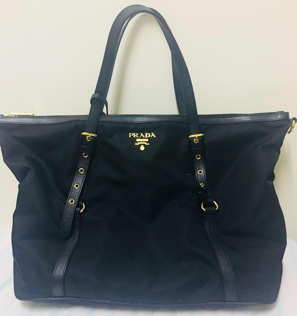 bc6d2a3328cb ... denmark prada nylon tote bag luxury bags wallets handbags on carousell  77086 31296