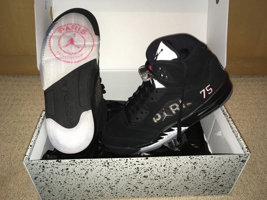 online retailer 929c9 4ed6b PSG x Jordan Retro 5 - Sold out everywhere - BNIB
