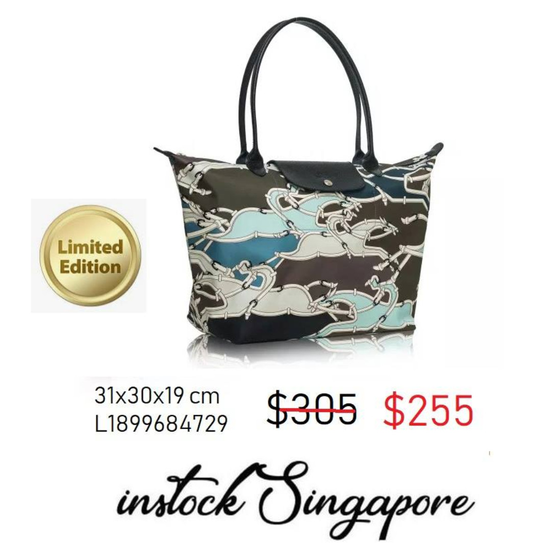 READY STOCK authentic new Longchamp Large Longhandle shopping bag Le ... e1769da49814d
