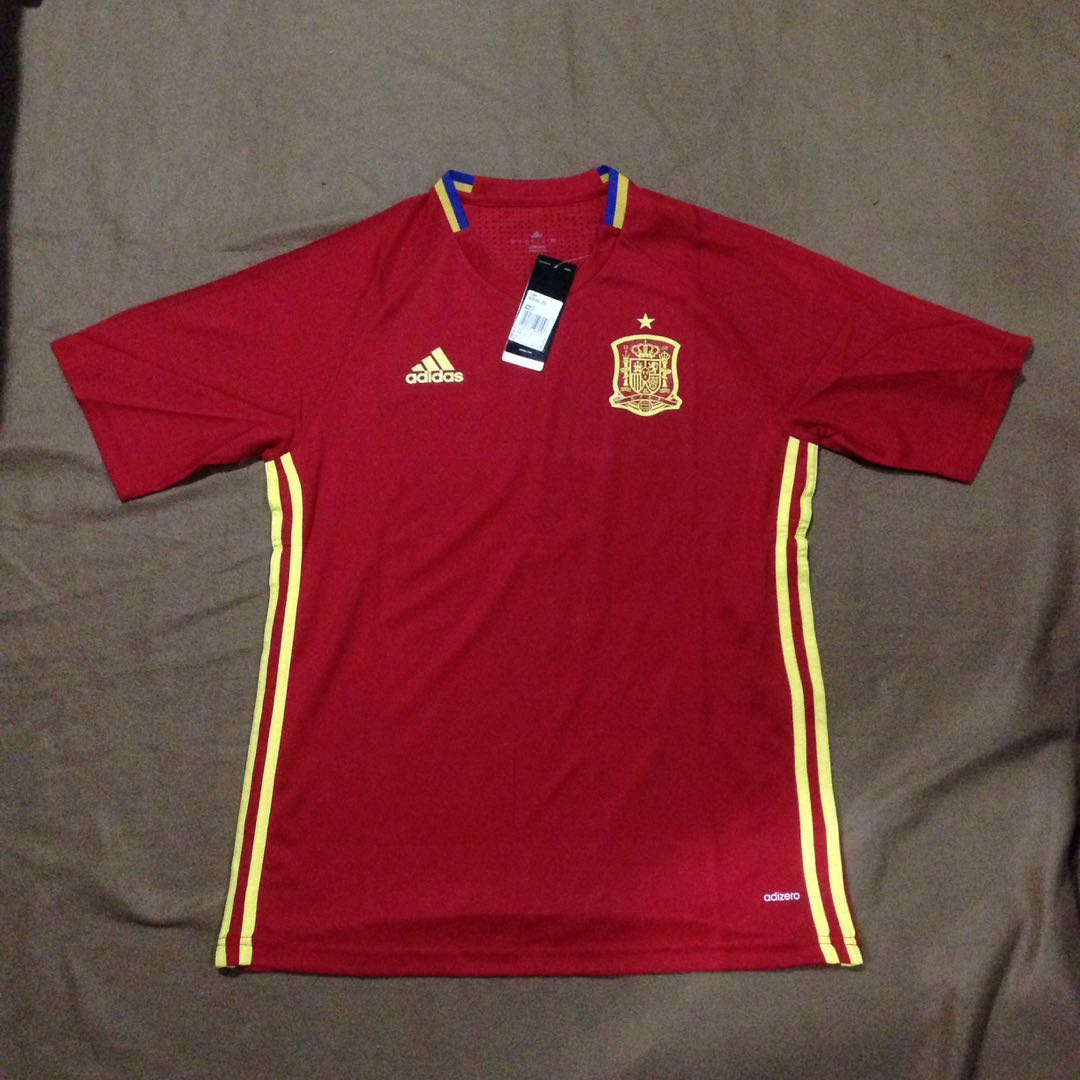 93141fd66 REPLICA  Spain 16 17 Home Football Jersey
