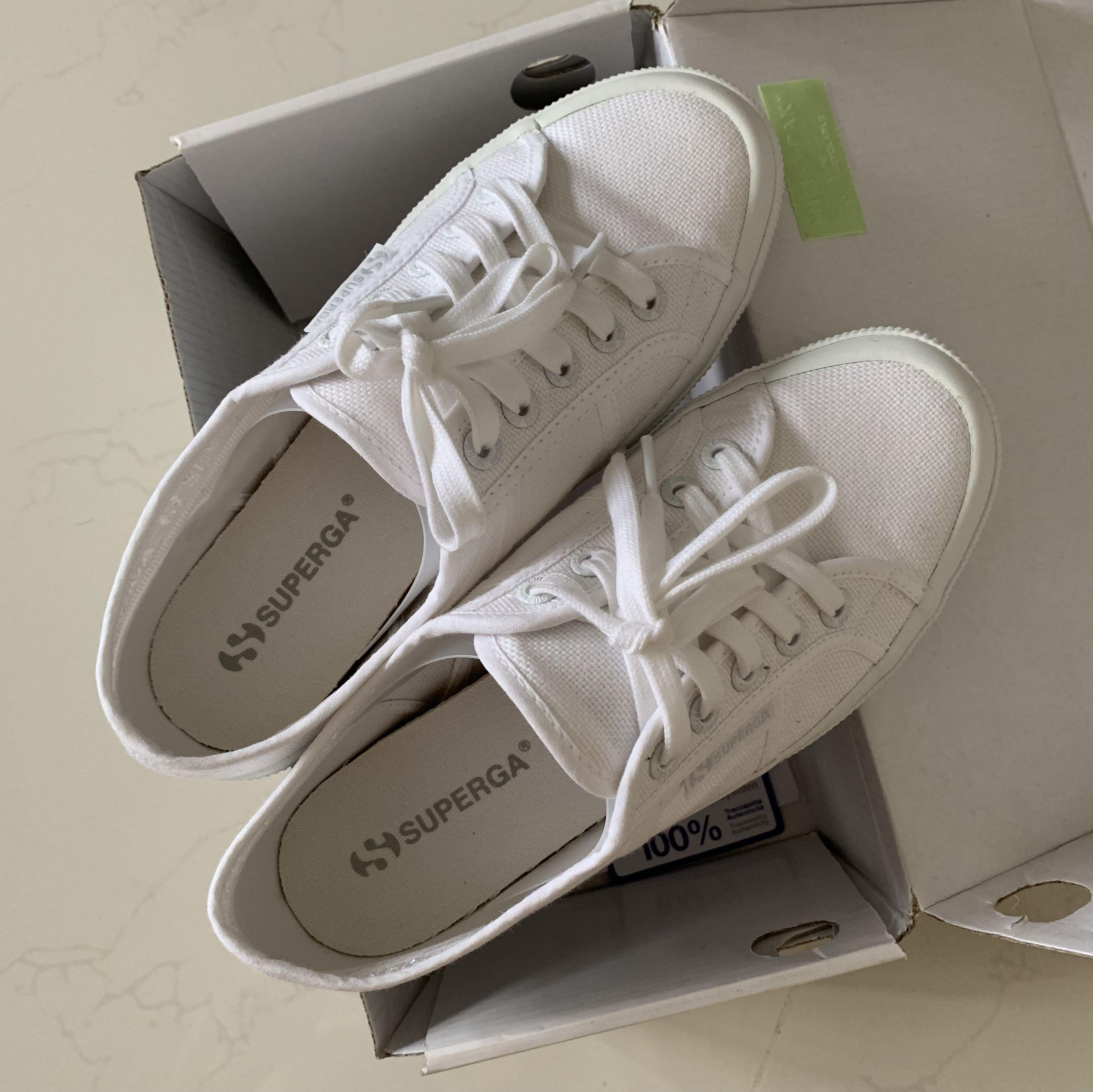 Superga 2750 Total White - Size 37