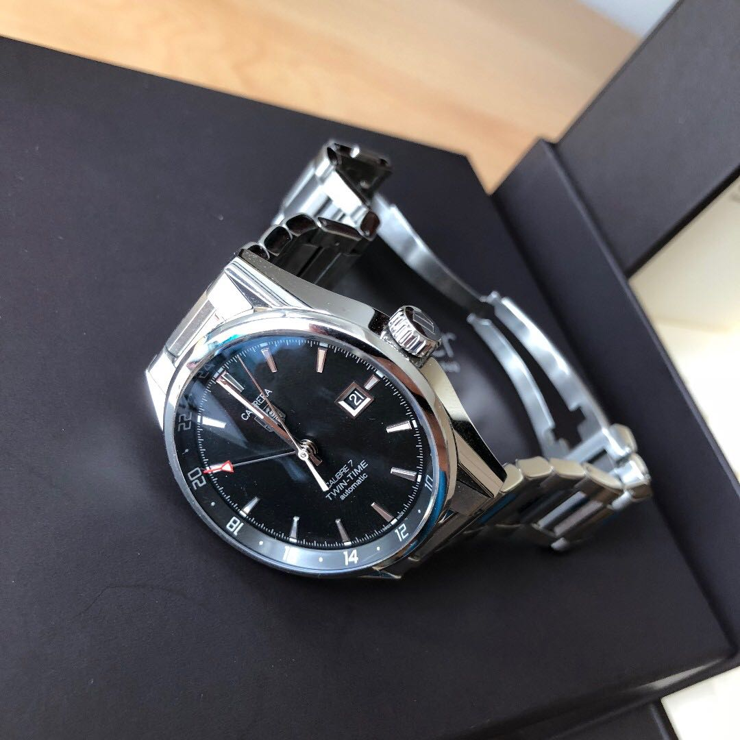 5b267d8cdfda TAG HEUER CARRERA CALIBRE 7 TWIN TIME (BARELY USED!) - PRICE DROPPED ...