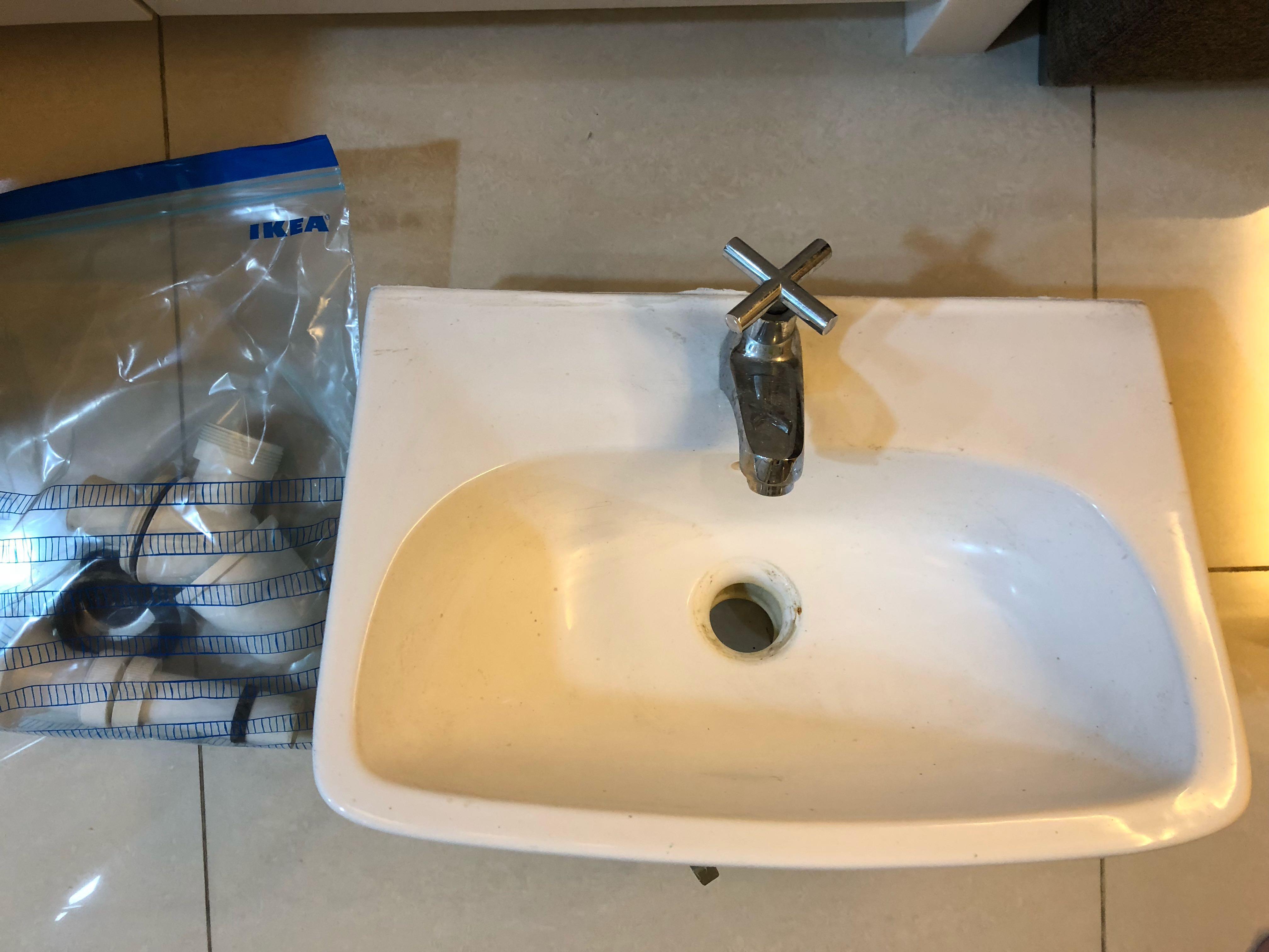 Unused Small Basin
