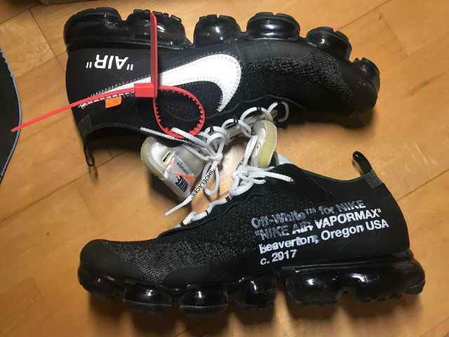 7b388d017d (USED) US 11.5 OFF WHITE x NIKE VAPORMAX OG 1.0, Men's Fashion, Footwear,  Sneakers on Carousell