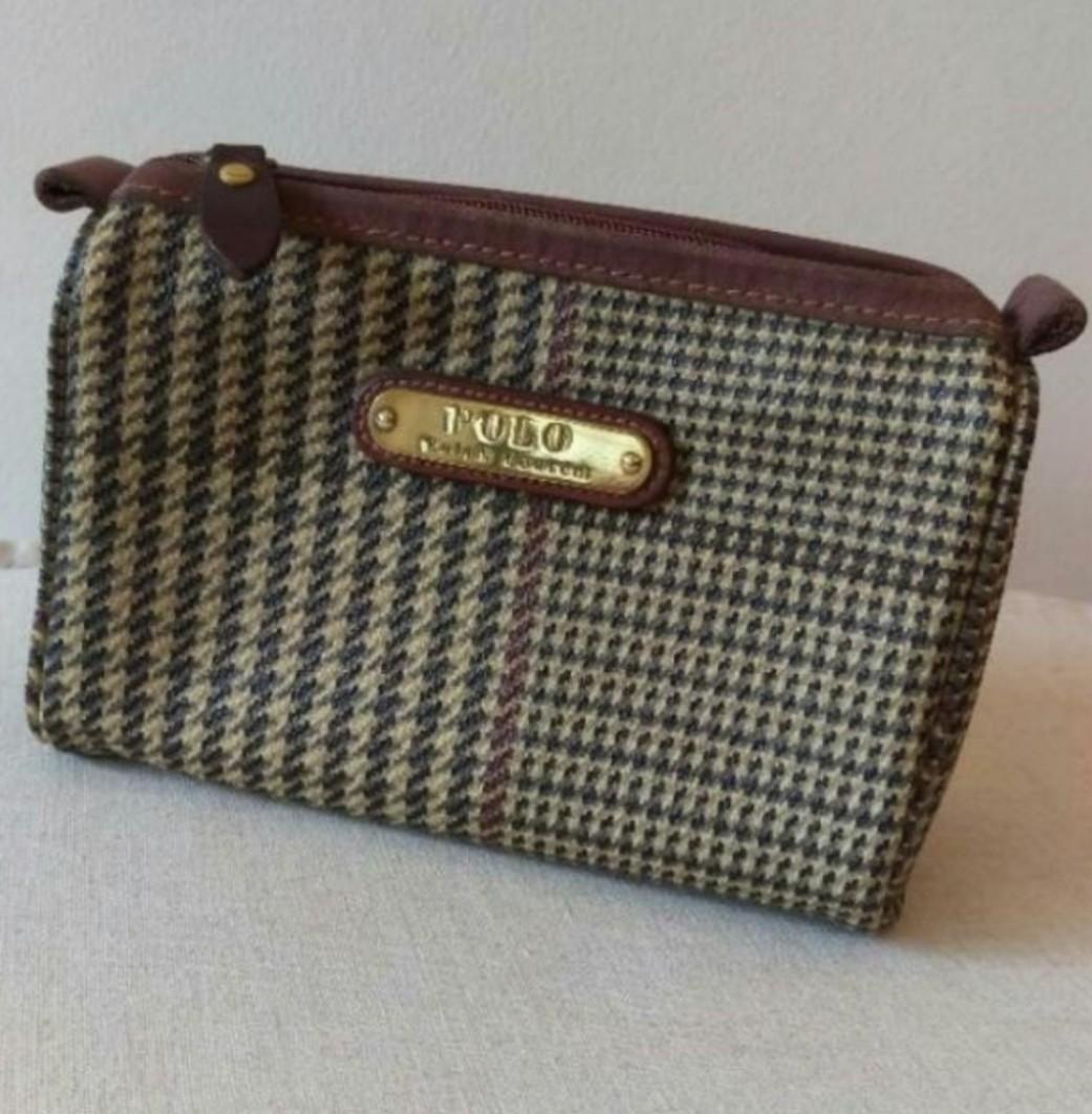 c57d1be50143 Vintage Polo Ralph Lauren Pouch Bag