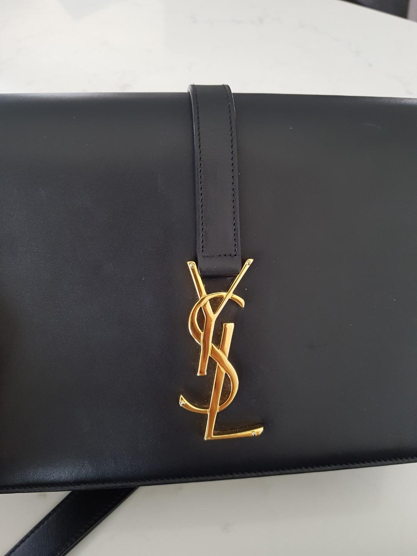 YSL Saint Laurent Unviersite leather handbag