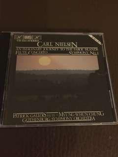 CD: CARL NIELSEN [ Flute Concerto : An Imaginary Journey To The Faroe Islands]; As Shown