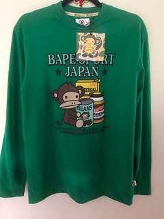 BNWTG Baby Ape sweat shirt