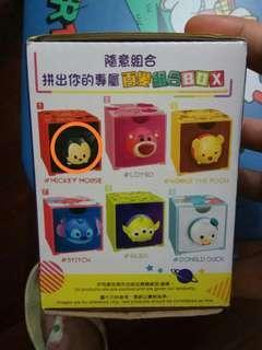 7-11 tsum tsum 百變組合box , 米奇頭,鴨尾(可換)
