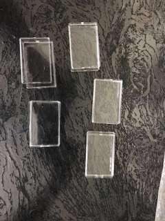 Gold silver bar Ingot case 5.5 cm x 3.5 cm x 1cm
