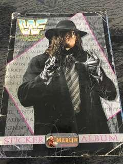 Wwf 1994 Merlin sticker album 70% complete