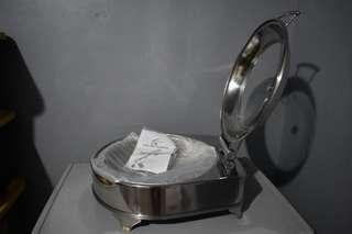 Display warmer / Chafer / Glass Lid with heat and frame