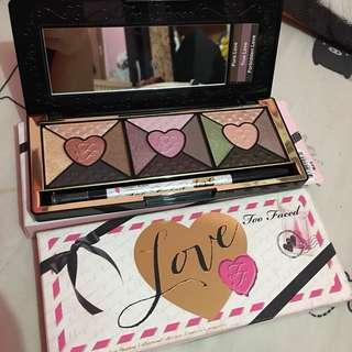 Too Faced Love Palette Limited Edition