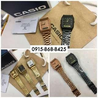Casio Retro Vintage Watch Retro Analog/Digital Unisex