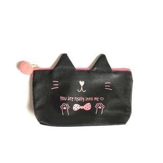 🇯🇵 Cat You Are Really Into Me Cosmetic Coin Purse Multipurpose Pouch from Japan