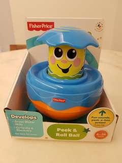 Fisher-Price Peek & Roll Ball