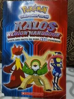 Pokemon Kalos Region Handbook