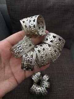 Napkin ring holder ( 12 pcs.)