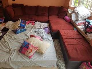 L-shape sofa Large