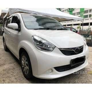 2013 Perodua Myvi 1.3 EZ (A) One Owner Full Perodua Service Record