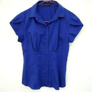 Atasan Kantor | Blouse Biru The Executive