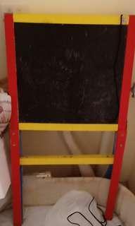 Toddler black & white board