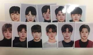 Wanna One MD Kit I Promise You ID Picture